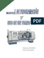 Manual de Programación y Uso de Un Torno Cnc 233453456577