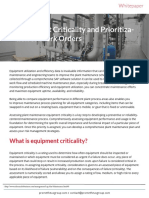 Equipment Criticality White Paper