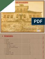 Histórico e Diagnóstico Fazenda São Bernardino