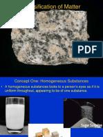 2 1 Classification of Matter