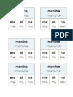 CC-cartões Caderno Da Divisão Silabica - MUNDO PALAVRAS