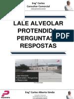 Laje Alveolar Protendida- Perguntas e Respostas