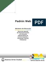 Instructivo Padron Web