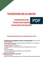 5.Comprimate de Uz Special