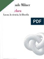 La Obra Clara - Jean Claude Milner