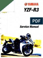 Yamaha 2015-2016 YZF-R3 Service Manual