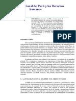 CONTROL de LECTURA.-la Policía Nacional Del Perú y Los Derechos Humanos