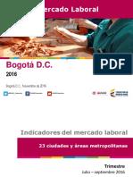 Bogotá Jul- Sep 16