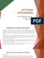 Actividad Integradora E1 - Base de Datos