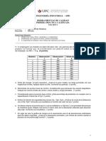 1ra Practica Calificada _ Herramientas de Calidad