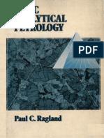 Basic Analytical Petrology - Paul C. Ragland