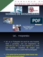 Seminario - Normas de Bioseguridad_2017_usmp