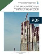 Kajian Penyusunan Materi Teknis Pedoman Sinkronisasi Rencana Tata Ruang Dan Rencana Pembangunan