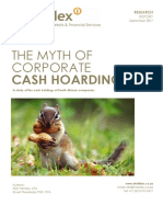 The Myth of Corporate Cash Hoarding Final Report