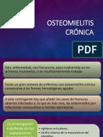 Parte 5 - Osteomielitis Crónica