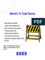 Barriers to Team Sucsess Unpan010503