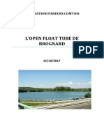 PRESENTATION OPEN FLOAT TUBE DE BROGNARD 2017