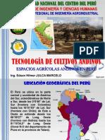 I-4 Espacios Agrícolas Andinos en Perú