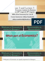 Lecture 2 and Lecture 3