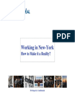 Working in New York City