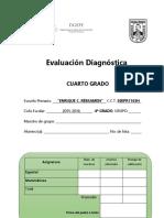 Evaluación Diagnóstica de Cuarto