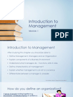 Introduction to Management - Module 1_Jul'17