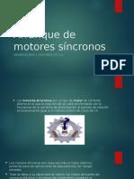 Arranque de Motores Síncronos