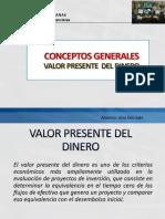 Valor Presente Del Dinero