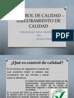 CONTROL DE CALIDAD – ASEGURAMIENTO DE CALIDAD.pptx