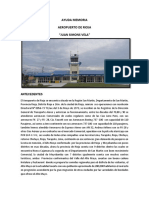 Memoria Descriptiva Aeropuerto RiojaII.