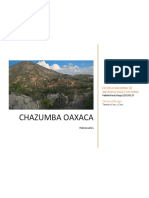 Chazumba Informe