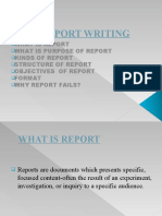 Report Writing Ppt
