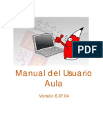 Manual Aula Virtual de la plataforma educativa de la JCyL