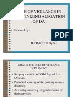 Da _ Role of Vigilance in Scrutinizing Alegation of Da