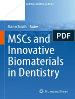 (Stem Cell Biology and Regenerative Medicine) Marco Tatullo (Eds.)-MSCs and Innovative Biomaterials in Dentistry-Humana Press (2017)