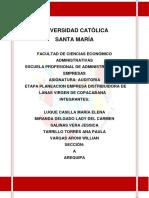 Auditoria de La Empresa Distribuidora de Lanas (1)