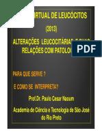 Alteracoes leucocitarias
