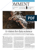 A Vision for Data Science