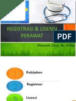 Registrasi Dan Lisensi Perawat