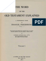 Em Swedenborg THE WORD EXPLAINED Volume I Academy of the New Church Bryn Athyn PA 1928