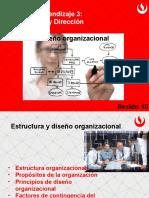 Sesión 10_ Estructura y Diseño Organizacional