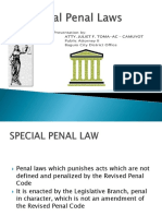 Special Penal Laws