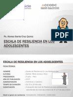 Escala de Resiliencia en Los Adolescentes