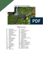 Baldur's Gate - Maps