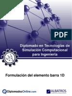 Guia - Formulación Del Elemento Barra 1D
