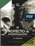 LIBRO-EL PROY DE INVEST 6Ed - FIDIAS G. ARIAS++++
