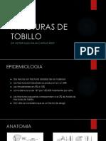 Fracturas de Tobillo