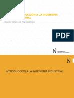 III_S1 - Introducción a La Ing. Industrial