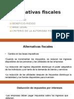 alternativas fiscales .pptx