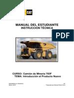 Manual Del Estudiante 793F NPI